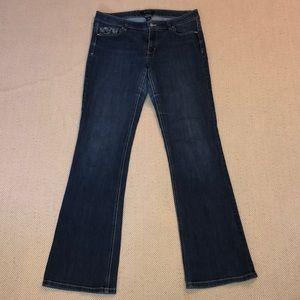 WH|BM boot cut jeans - 8R